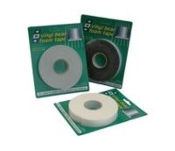 PSP Vinyl foam Tape zwart 25x6mm 3m