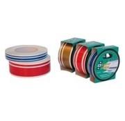 Colourstripes T1 wit 19mm 10m