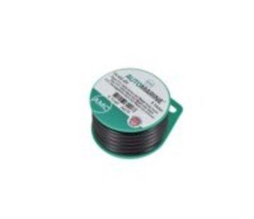 Automarine Platte pvc kabel zwart 2x0.75mm² rood/zwart (5m)