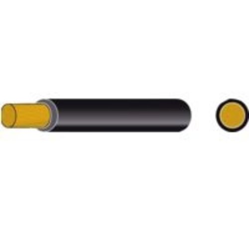 Automarine Accukabel geïsoleerd 25mm² zwart