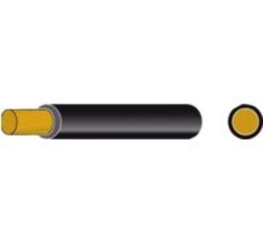 Accukabel geïsoleerd 25mm² zwart