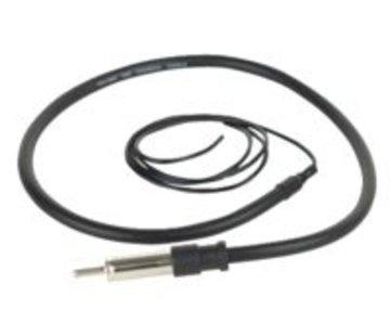 Boss Marine rubber antenne zwart MRANT12