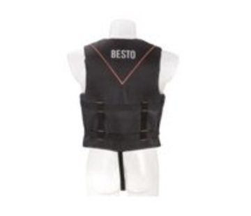 Besto Skivest all black/orange 50N M