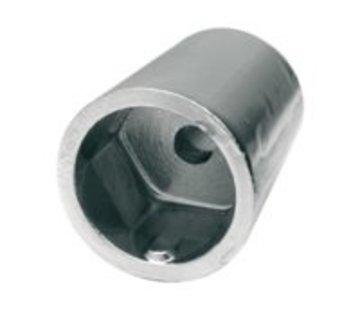Talamex Schroefas Anode zink 40mm 6-kant