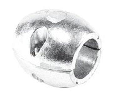 Talamex Schroefas Anode 25MM Aluminium