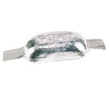 Talamex Romp anode magnesium met strip 0.30kg 110x60x28mm