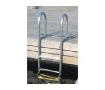 Talamex Zwemtrap aluminium 3 treden