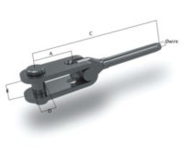 O.S. Toggleterminal 8mm