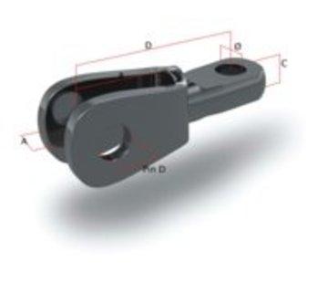 O.S. Oog-gaffel-toggle m8