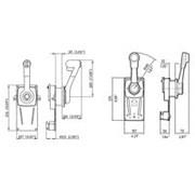 Ultraflex Model B184 met positieve neutraalstandblokkering en trimschakelaar