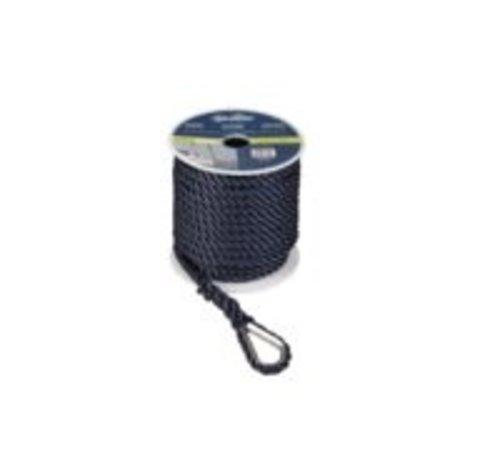 Talamex Ankerlijn Polyester 12MM 30M ZWART