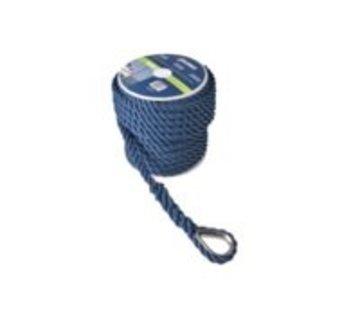 Talamex Ankerlijn Polyester 12MM 30M NAVY