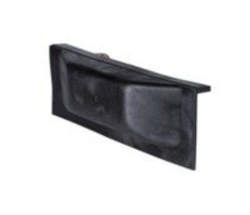 Talamex Steigerfender hoek 25+25x7x10cm zwart
