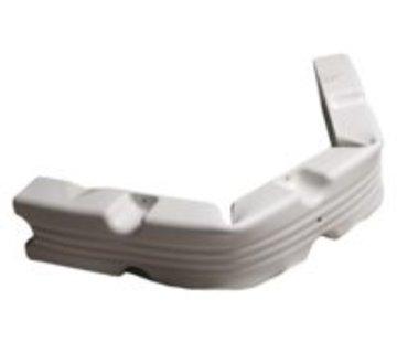 Talamex Steigerfender 100x12x7cm flexibel wit