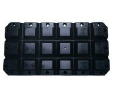 Talamex Multifender zwart