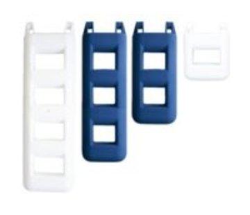 Talamex Trapfender 3 treden blauw