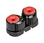 Ronstan Aluminium clamcleat small Rood/zwart RF5500R