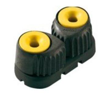 Ronstan Aluminium clamcleat medium Rood/zwart RF5510R