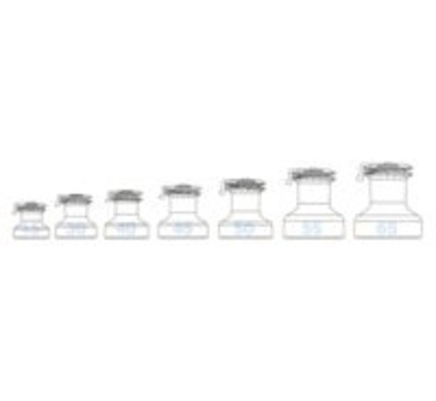 45ST chrome EVO selftailing lier