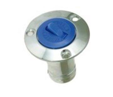 Talamex Dekdop verchroomd water 38mm