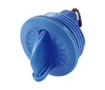 Talamex Delrin dop water blauw