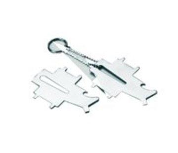 Talamex Dekdop-sluiting sleutel universeel