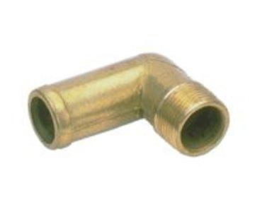 Talamex Slangtule messing 90° 1 1/2x38mm