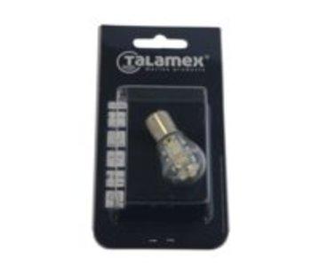 Talamex Ledlamp led15 10-30V BA15D 2700k