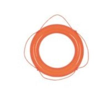 Talamex Reddingsboei pvc oranje 60cm met oranje lijn
