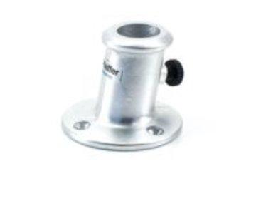 Pfeiffer Marine Vlaggestokhouder schuin aluminium 25mm
