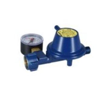 Talamex Gasdrukregelaar 30 mBar met manometer