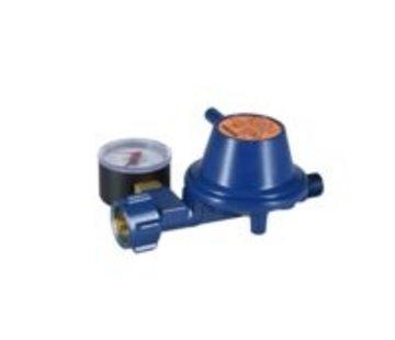 Talamex Gasdrukregelaar 50 mBar met manometer