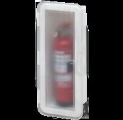 Allpa Kunststof Brandblusserhouder met transparante deksel