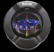 Ritchie Ritchie Kompas model Venture SR-2  12V  schotkompas  roosDiameter93 5mm / 5Graden  zwart  met clinometer