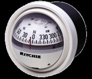Ritchie Ritchie Kompas model Explorer V-57W.2  12V  dashboardkompas  roosDiameter69 9mm / 5Graden  wit
