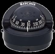 Ritchie Ritchie Kompas model Explorer S-53  12V  opbouwkompas  roosDiameter69 9mm / 5Graden  zwart