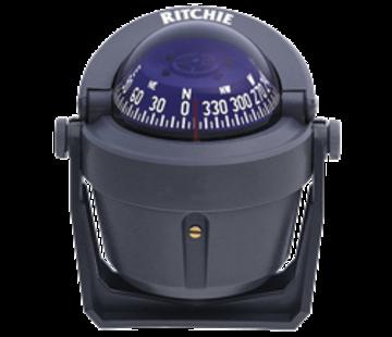 Ritchie Ritchie Kompas model Explorer B-51G  12V  beugelkompas  roosDiameter69 9mm / 5Graden  grijs