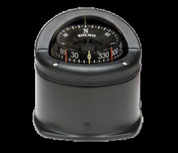 Ritchie Ritchie Kompas model Helmsman  HD-745  12V  opbouwkompas  roosDiameter93 5mm / 5Graden  zwart