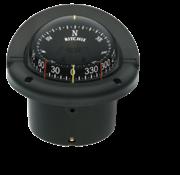 Ritchie Ritchie Kompas model Helmsman  HF-743  12V  inbouwkompas  roosDiameter95mm / 5Graden  zwart