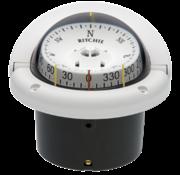 Ritchie Kompas model Helmsman  HF-743W  12V  inbouwkompas  roosDiameter95mm / 5Graden  wit