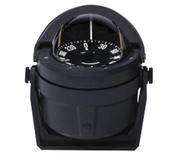 Ritchie Ritchie Kompas model Voyager B-80  12V  beugelkompas  roosDiameter76 2mm / 5Graden  zwart