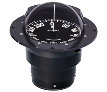 Ritchie Ritchie Kompas model Globemaster SF-600  12/24/32V  inbouw Diameter152 4mm / 2 of 5Graden  zwart (zeil)