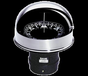 Ritchie Ritchie Kompas model Globemaster FD-600-B  12/24/32V  inbouw Diameter152 4mm / 2 of 5Graden  zwart (motor)