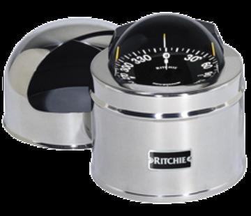 Ritchie Ritchie Kompas model Globemaster D-515-EP  12/24/32V  opbouw Diameter127mm / 2 of 5Graden  RVS (zeil)