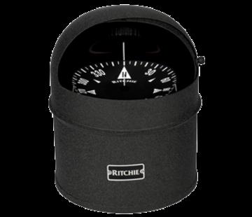 Ritchie Ritchie Kompas model Globemaster D-615-B  12/24/32V  opbouw Diameter152 4mm / 2 of 5Graden  zwart (motor)