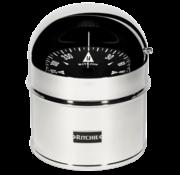 Ritchie Kompas model Globemaster D-615-P  12/24/32V  opbouw Diameter152 4mm / 2 of 5Graden  RVS (motor)