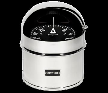 Ritchie Ritchie Kompas model Globemaster D-615-P  12/24/32V  opbouw Diameter152 4mm / 2 of 5Graden  RVS (motor)