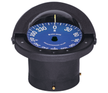 Ritchie Ritchie Kompas model Supersport SS-2000  12V  inbouwkompas  roosDiameter114 3mm / 5Graden  zwart