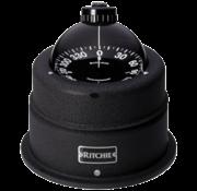 Ritchie Ritchie kompas model Globemaster C-453  12/24/32V  opbouwkompas  roosDiameter127mm / 2 of 5Graden  chrome