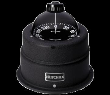 Ritchie Ritchie kompas model Globemaster C-463  12/24/32V  opbouwkompas  roosDiameter152 4mm / 2 of 5Graden  chrome
